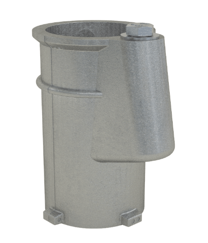 4 Inch Aluminum Anchor Socket