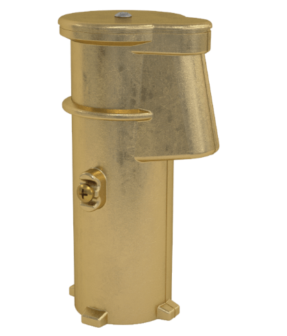 6 Inch Bronze Anchor Socket with Cap