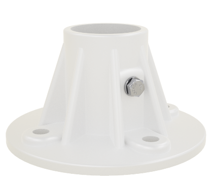 1.9 Inch Cycolac Plastic Flange
